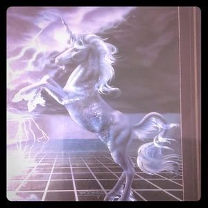 Unicorn framed picture